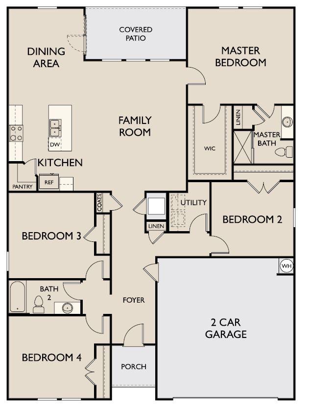 Starlight Homes Pandora Floor Plan