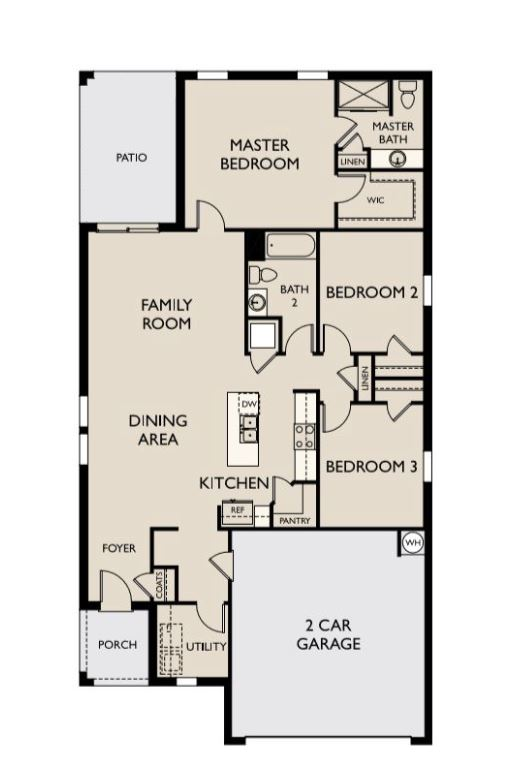 Starlight Homes Glimmer Floor Plan
