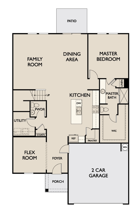 Starlight Homes Sagan Floor Plan