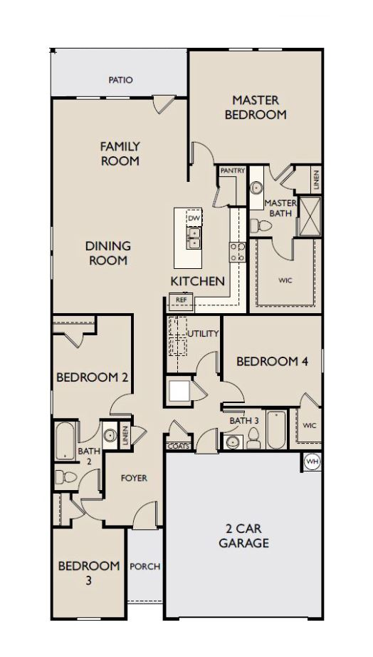 Starlight Homes Prism Floor Plan
