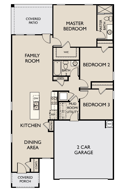 Starlight Homes Sterling Floor Plan
