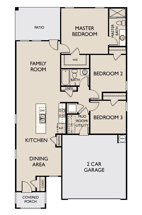 Starlight Homes Sterling Floor Plan