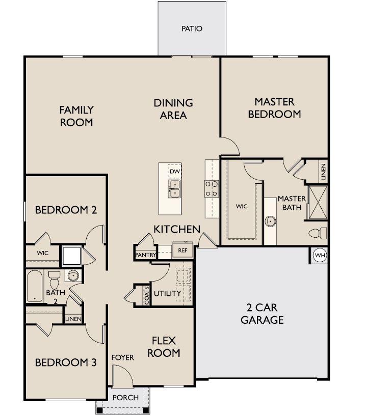 Starlight Homes Andromeda Floor Plan