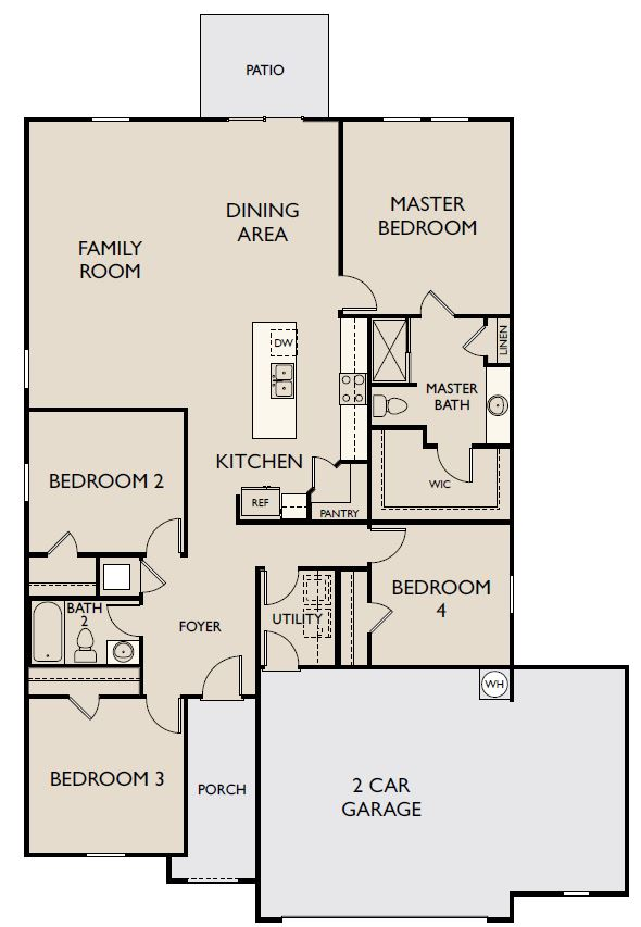 Starlight Homes Firefly Floor Plan