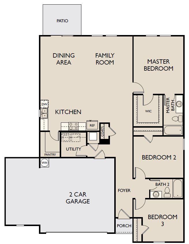 Starlight Homes Polaris Floor Plan