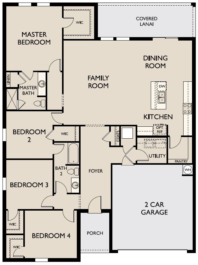 Starlight Homes Ophelia Floor Plan