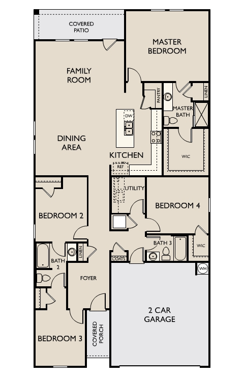 Starlight Homes Prism Floor Plan
