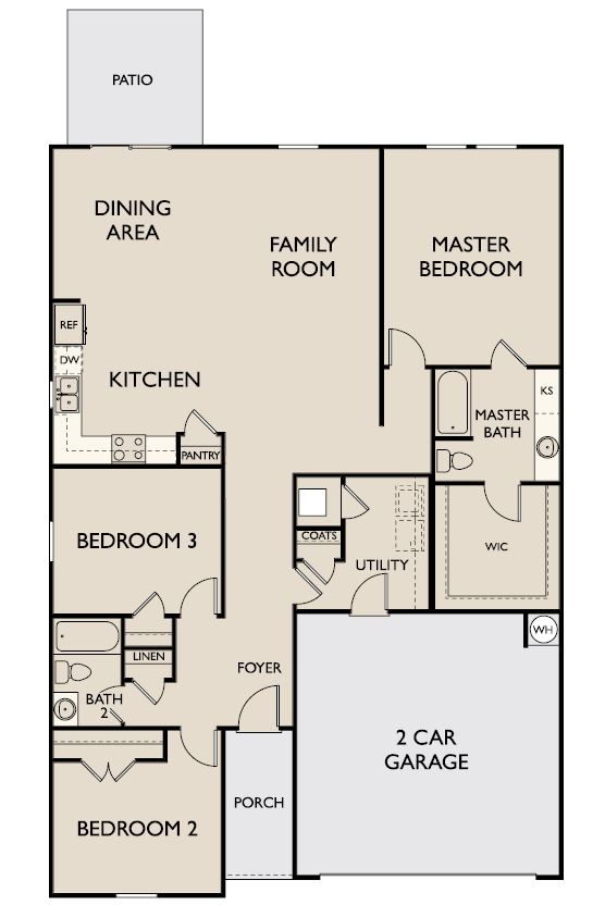 Starlight Homes Aurora Floor Plan