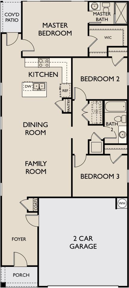 Starlight Homes Enterprise Floor Plan