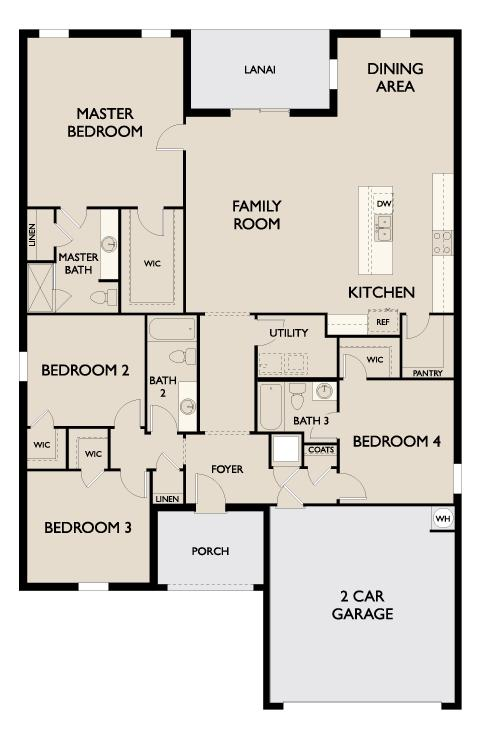 Starlight Homes Europa Floor Plan