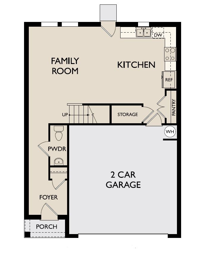 Starlight Homes Endeavor Floor Plan