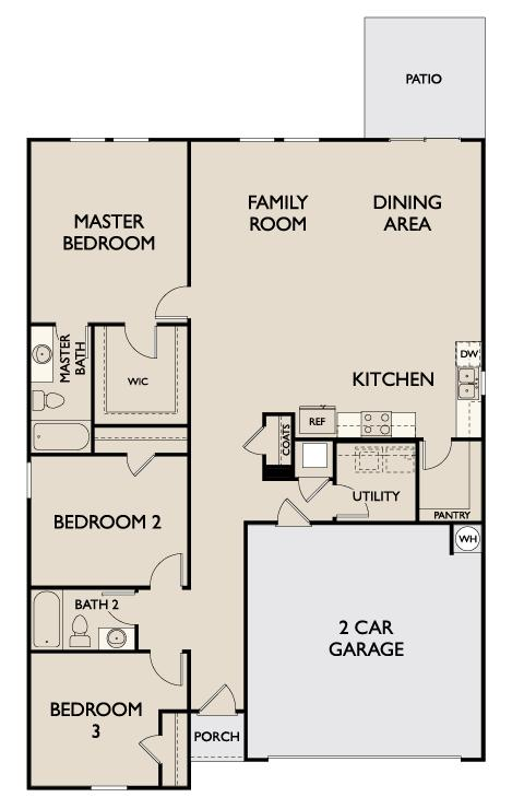 Starlight Homes Polaris Floor Plan