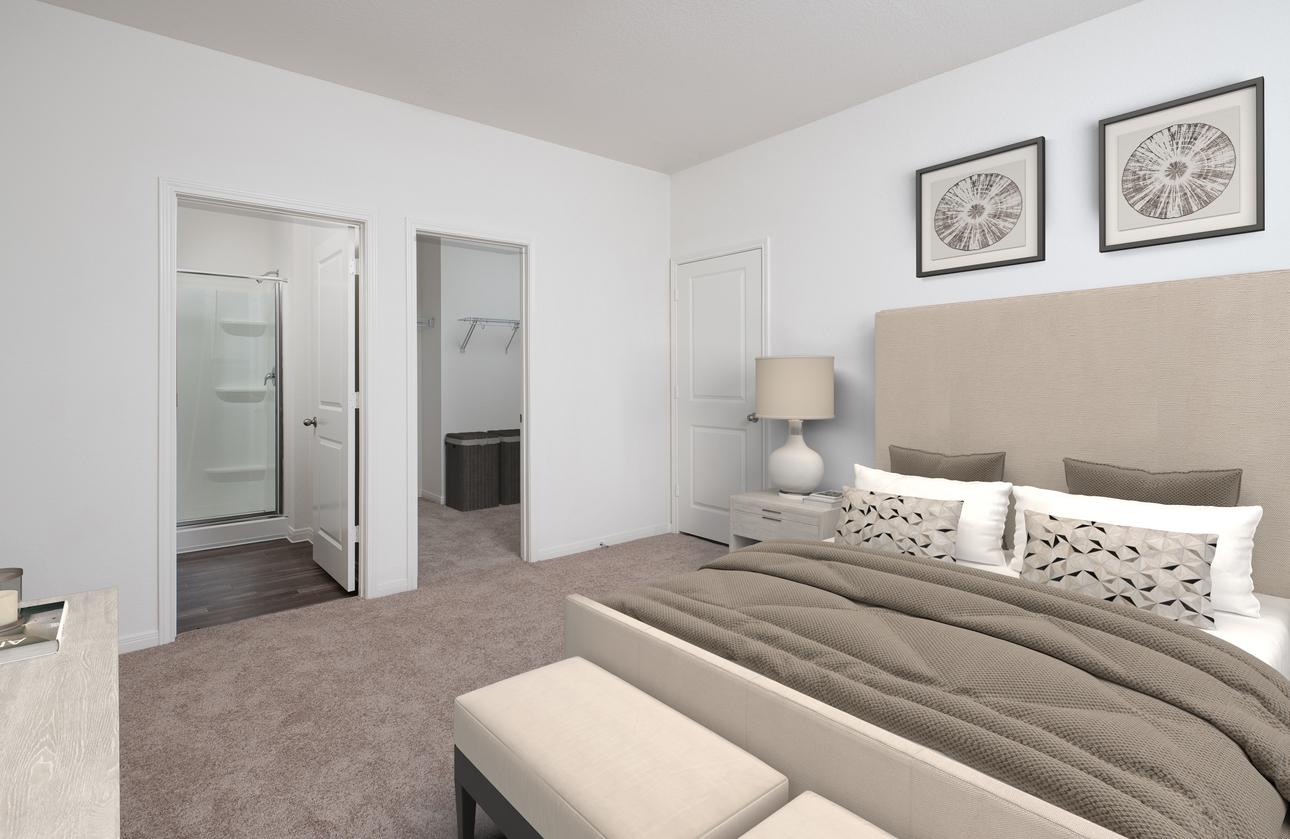 Starlight Homes Atlantis Master Bedroom