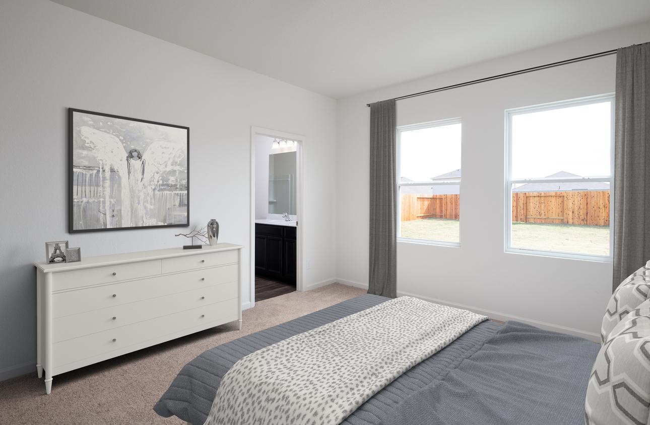 Starlight Homes Dawn Master Bedroom