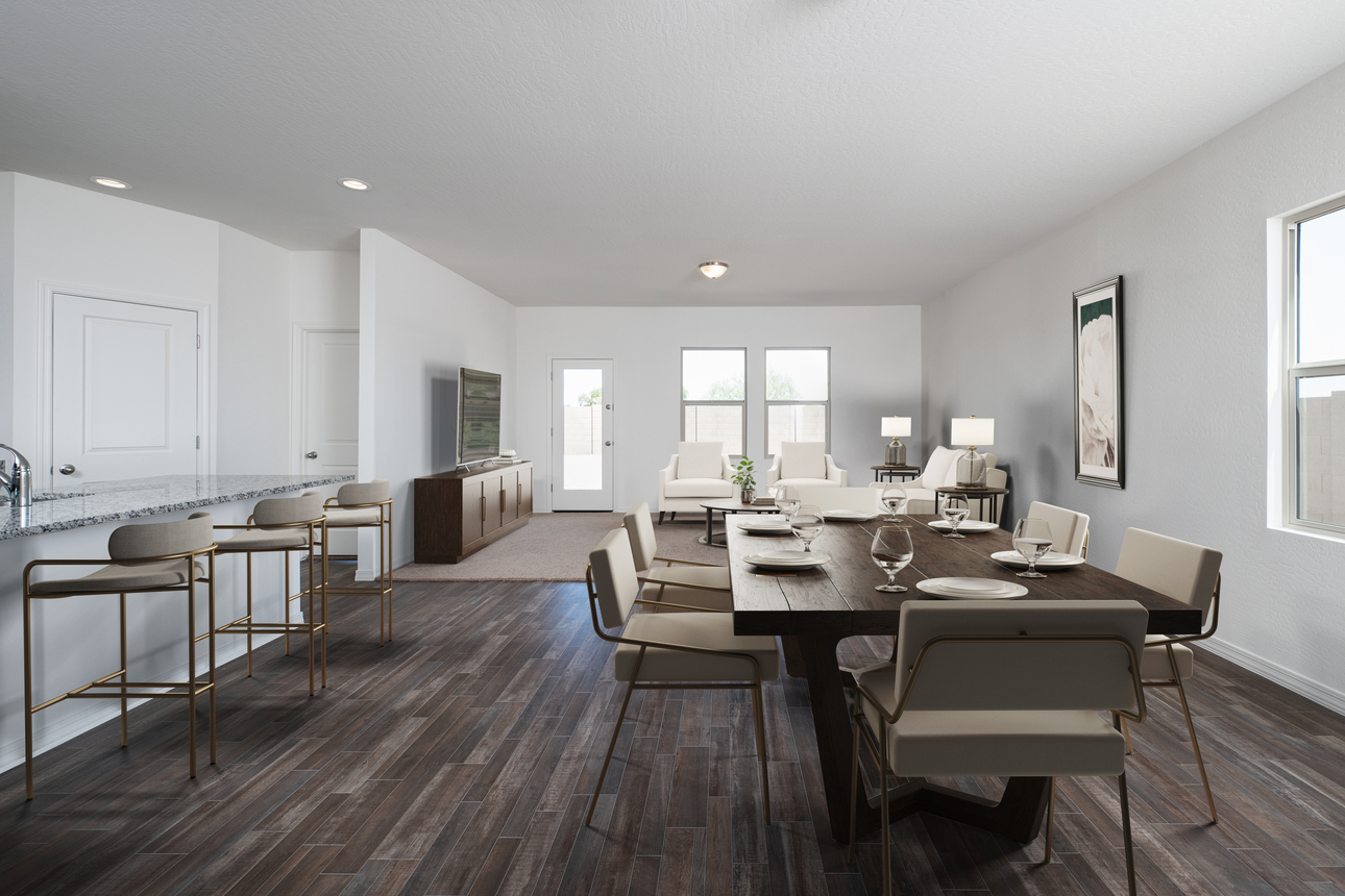 Starlight Homes Prism 3 Dining Room