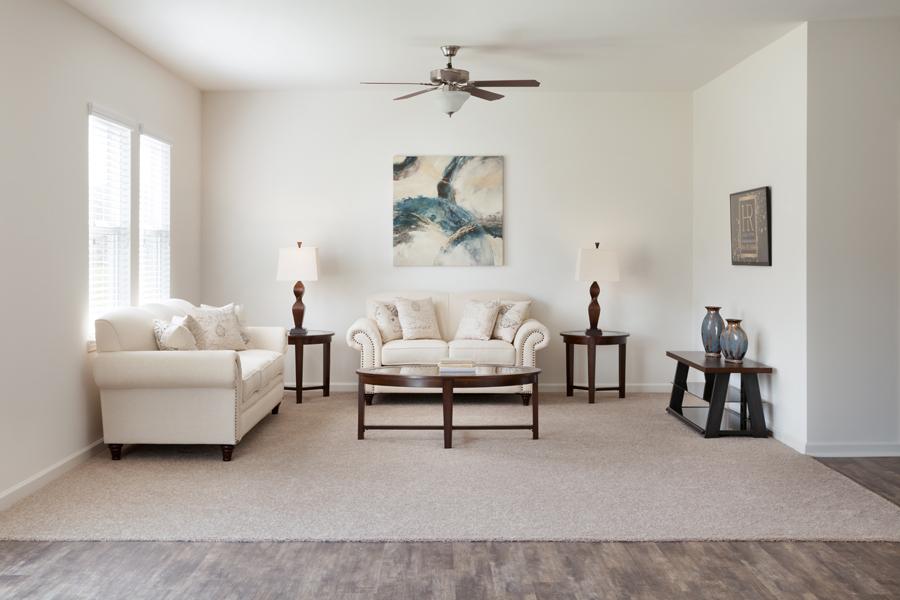 Starlight Homes Luminary Living Room