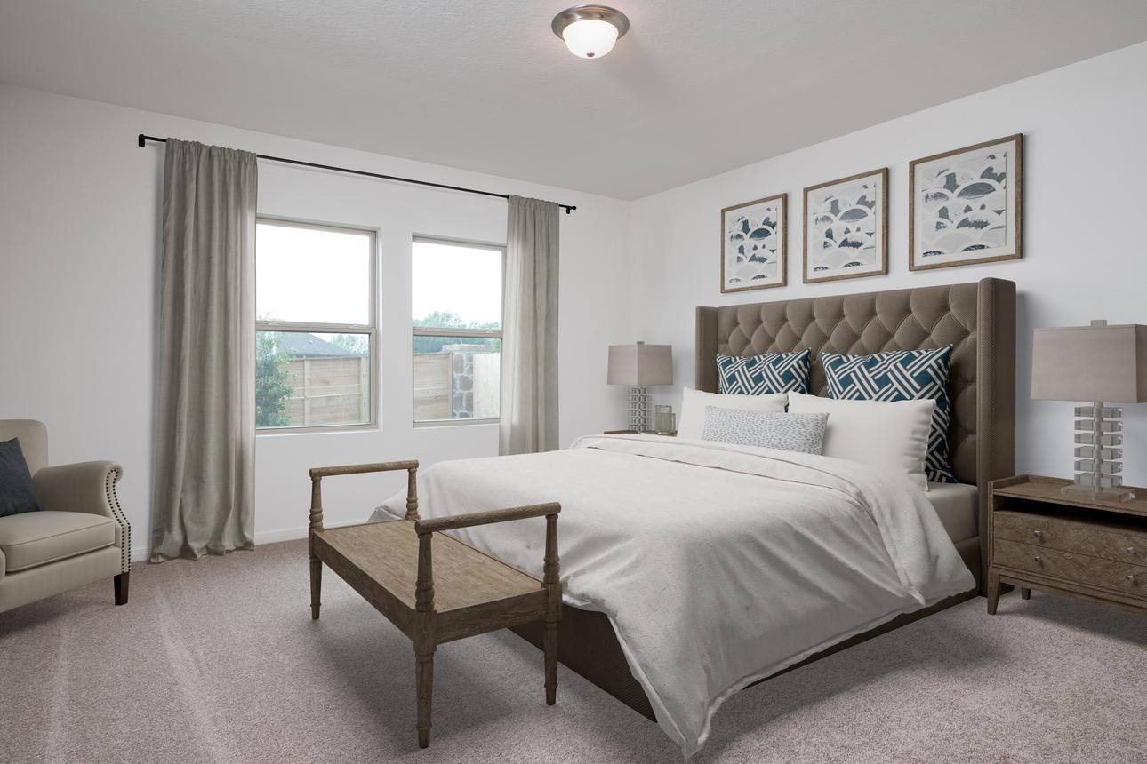 Starlight Homes Moonbeam 3 Master Bedroom