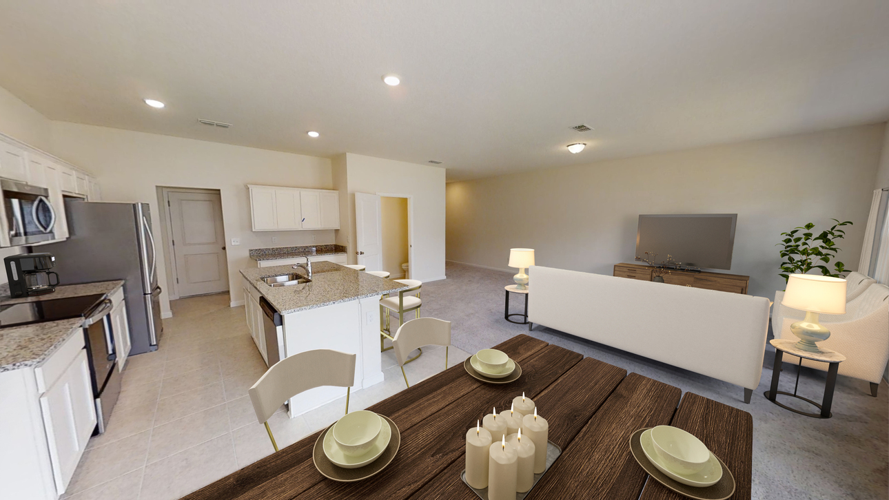 Starlight Homes Discovery Dining Kitchen Living