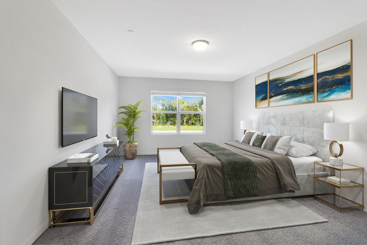 Starlight Homes celestial master bedroom