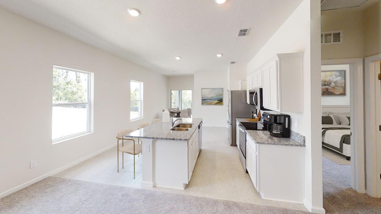 Starlight Homes Odyssey Kitchen Bedroom