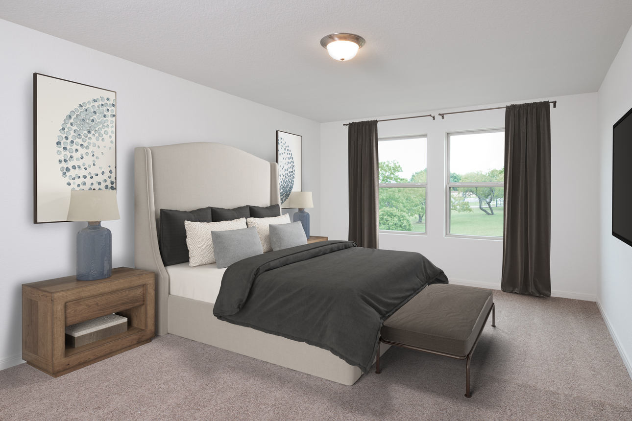 Starlight Homes Magellan Master Bedroom