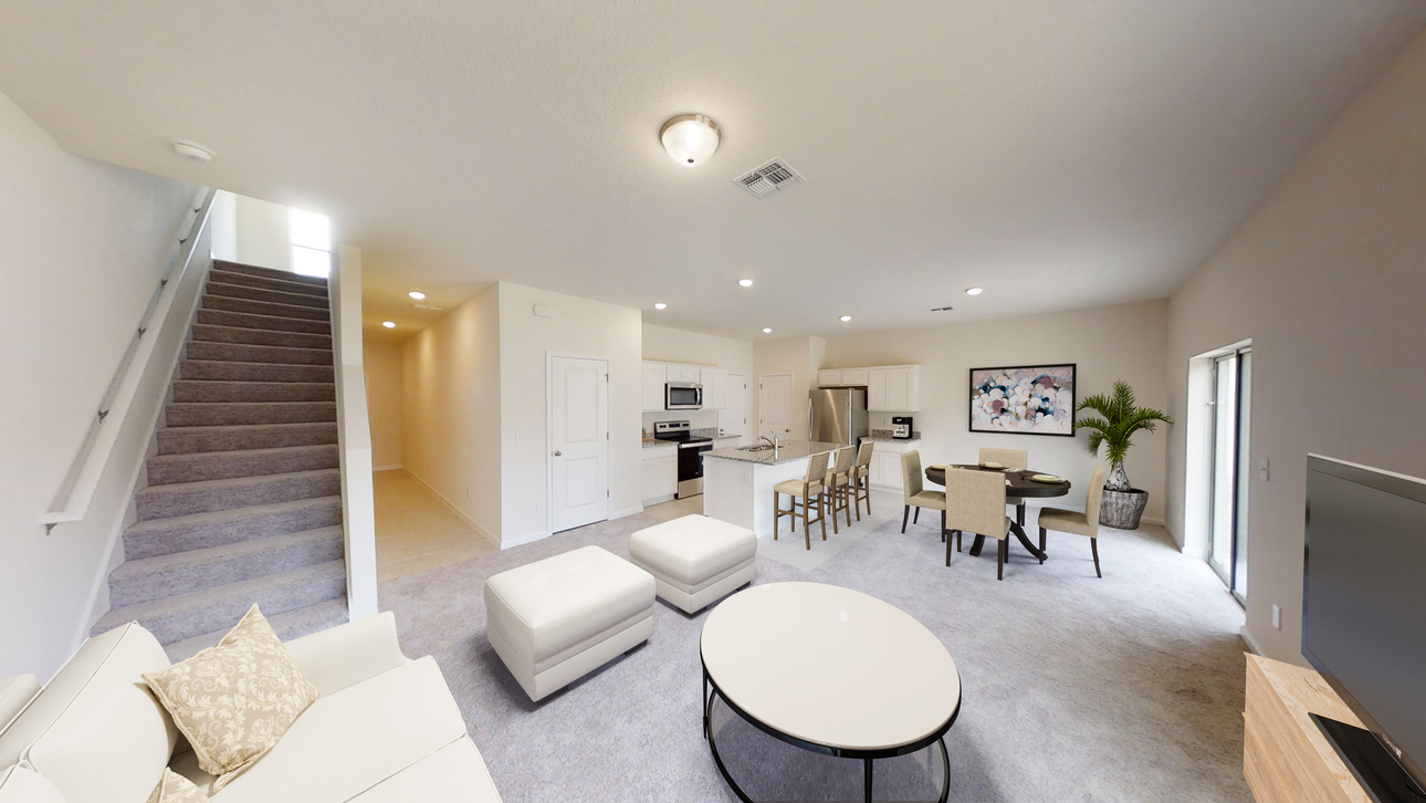 Starlight Homes Voyager Living Dining Kitchen