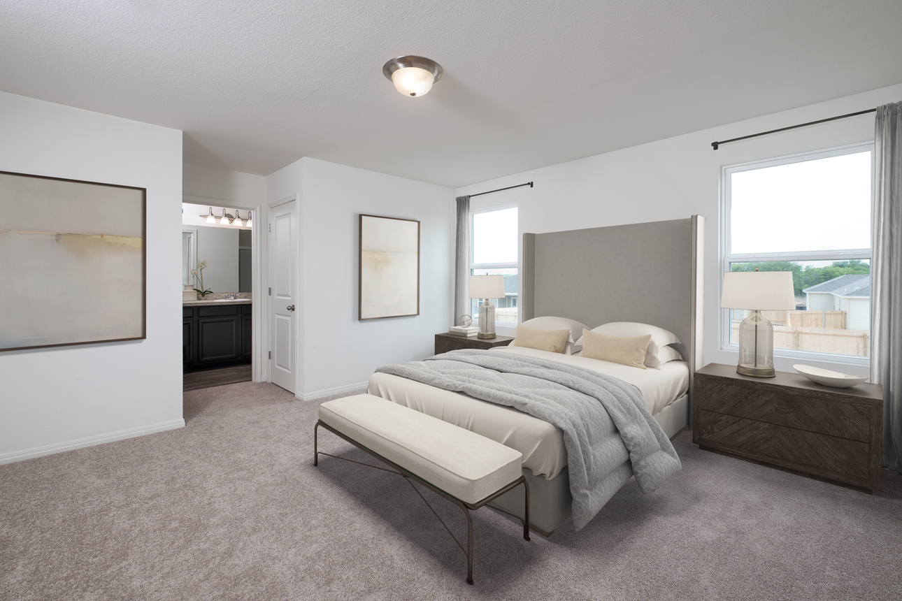 Starlight Homes Spectra Master Bedroom