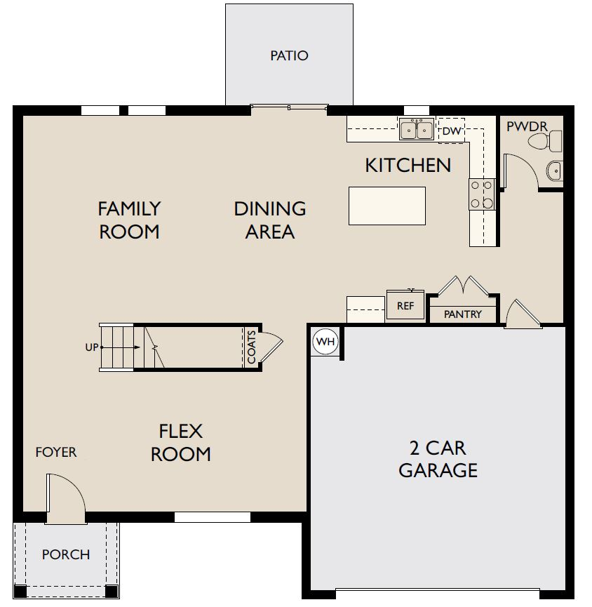 Starlight Homes Palomar Floor Plan