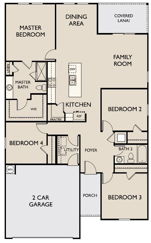 Starlight Homes Luna Floor Plan